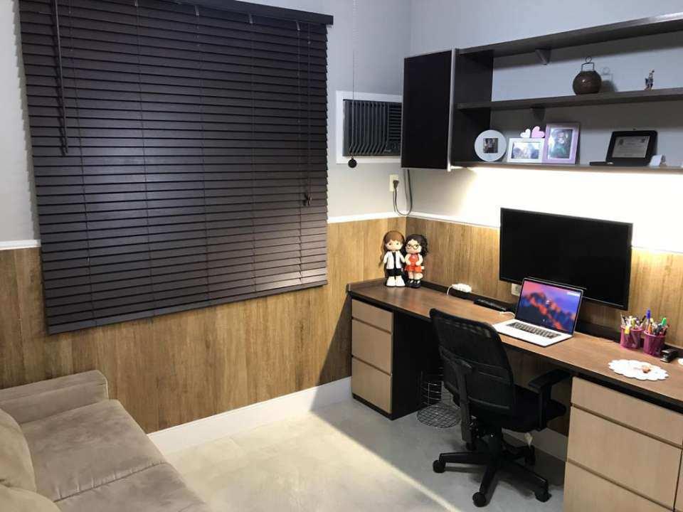quarto visitas/escritório - VENDA CASA SUPER LUXO 4 QTOS, PISCINA E CHURRASQUEIRA RAMOS - 179 - 15