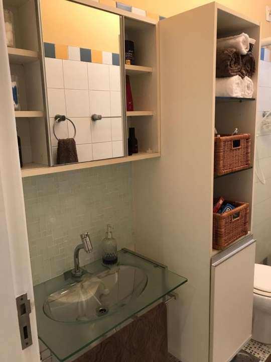 banheiro 1º andar - VENDA CASA SUPER LUXO 4 QTOS, PISCINA E CHURRASQUEIRA RAMOS - 179 - 18